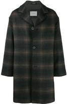 Lanvin plaid coat