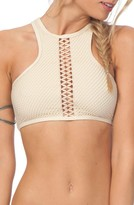 Rip Curl Women's Joyride High Neck Bikini Top