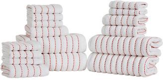 Superior Organic Cotton Wave 16Pc Towel Set