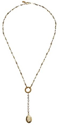Vanessa Mooney The D'Arcy Rosary (Gold) Necklace