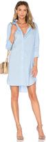 Frame Le Poplin Shirt Dress