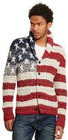 Denim & Supply Ralph Lauren Flag Cotton Cardigan