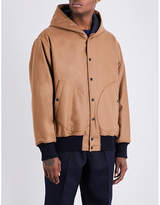 Marni Hooded stretch-wool jacket