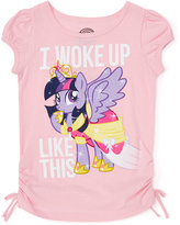 Jerry Leigh Icy Pink My Little Pony Twilight Sparkle 'Woke Up' Tee - Kids & Tween