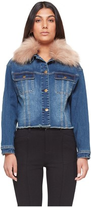 Lola Jeans Cropped Denim Jacket - Brooklyn