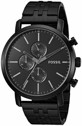 Fossil Men's Luther Quartz Stainless Chronograph Watch