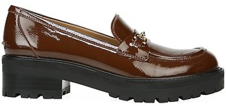 Sam Edelman Tully Lug-Sole Patent Leather Loafers