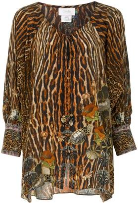 Camilla Wild Azal buttoned blouse