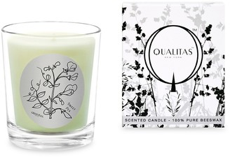 Qualitas Candles Sweet Pea Scented Beeswax Candle