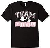 TEAM GIRL Baby Shower Gender Reveal Shirt
