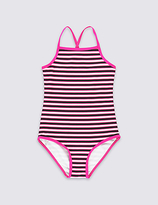 Marks and Spencer Striped Swimsuit (3-14 Years)