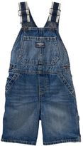 Osh Kosh Baby Boy Striped-Strap Denim Shortalls