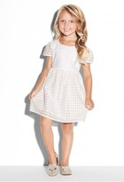 Milly Minis Illusion Basketweave Lucy Dress