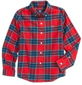 Vineyard Vines Toddler Boy's Caroler Plaid Flannel Shirt