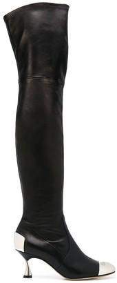 Casadei Thigh High Boots