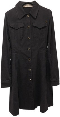 Christian Dior Blue Cotton Trench Coat for Women