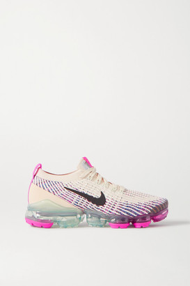 Nike Air Vapormax 3 Flyknit Sneakers - Beige