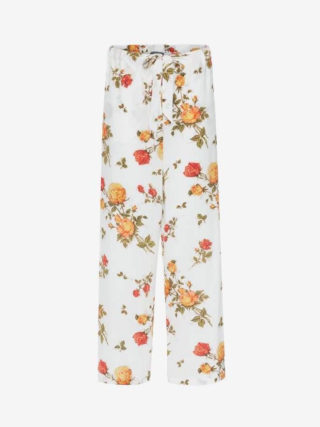 Alexander McQueen Scarf Print Pajama Pants