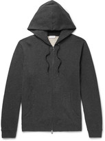 Sunspel - Brushed Loopback Cotton-jersey Zip-up Hoodie