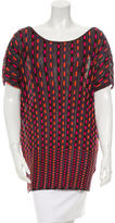 M Missoni Printed Knit Tunic