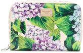 Dolce & Gabbana hydrangea print wallet