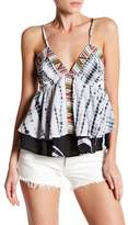 Romeo & Juliet Couture Sleeveless Print Tank
