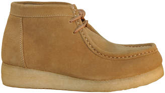 Roper Women's Casual boots SAND - Tan Suede Leather Moc-Toe Boot - Women