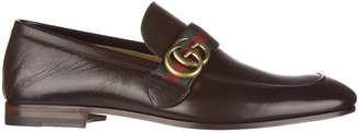 Gucci GG Metal Logo Loafers