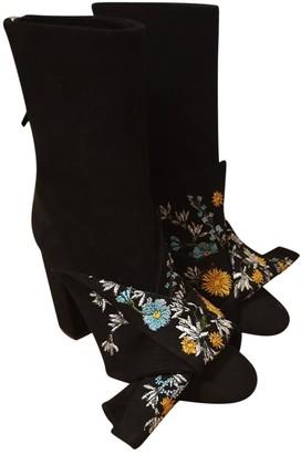 N°21 N21 Black Suede Ankle boots