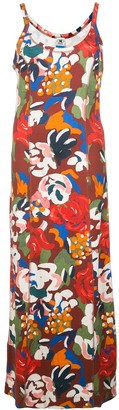 M Missoni Abstract Print Maxi Dress