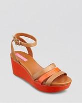 Isaac Mizrahi Platform Wedge Sandals - Trevia