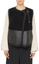 Chloé Sherling Vest