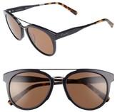 Salvatore Ferragamo Men's Retro 55Mm Sunglasses - Blue