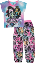 Komar Kids Monster High Blue & Purple Pajama Set - Girls
