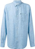 Barbour button-down Frank shirt - men - Linen/Flax - XL