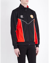 Adidas Manchester United Fc Cotton-blend Jacket