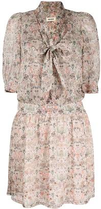 Zadig & Voltaire Rewel floral-print muslin dress