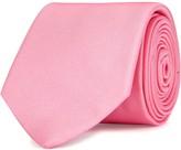Eton Pink Ribbed Silk Tie