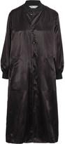 Comme des Garcons Oversized Satin Jacket - Black