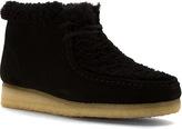 Clarks Women's Wallabee Boot.