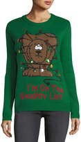 Chelsea & Theodore I'm On the Naughty List Crewneck Sweater