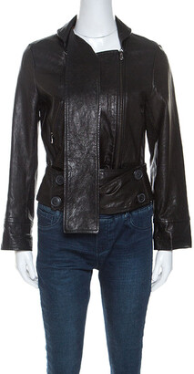 Vivienne Westwood Black Leather Jacket M