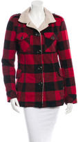 Torn By Ronny Kobo Plaid Patch Pocket