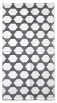 Thro Isabelle Metallic Rug from by Marlo Lorenz in Charcoal Silver