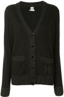Hermes Pre-Owned Button-Up Long-Sleeve Cardigan