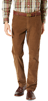 Dockers Alpha Slim Fit Corduroy Trousers, Tobacco