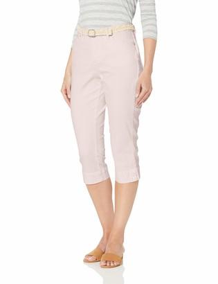 Bandolino Women's Mandie 5 Pocket Belted Capri