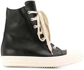 Rick Owens larry leather sneakers