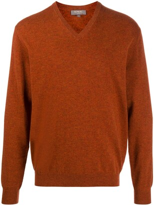 N.Peal V-neck cashmere sweater