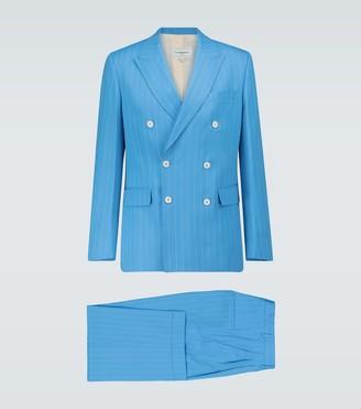 Casablanca Rio pinstriped wool suit